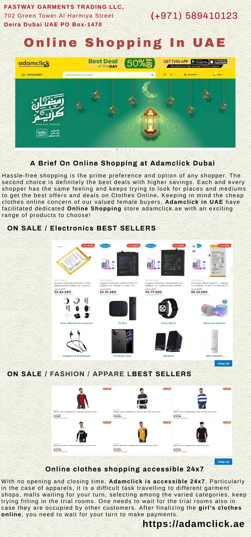 Online Shopping in UAE