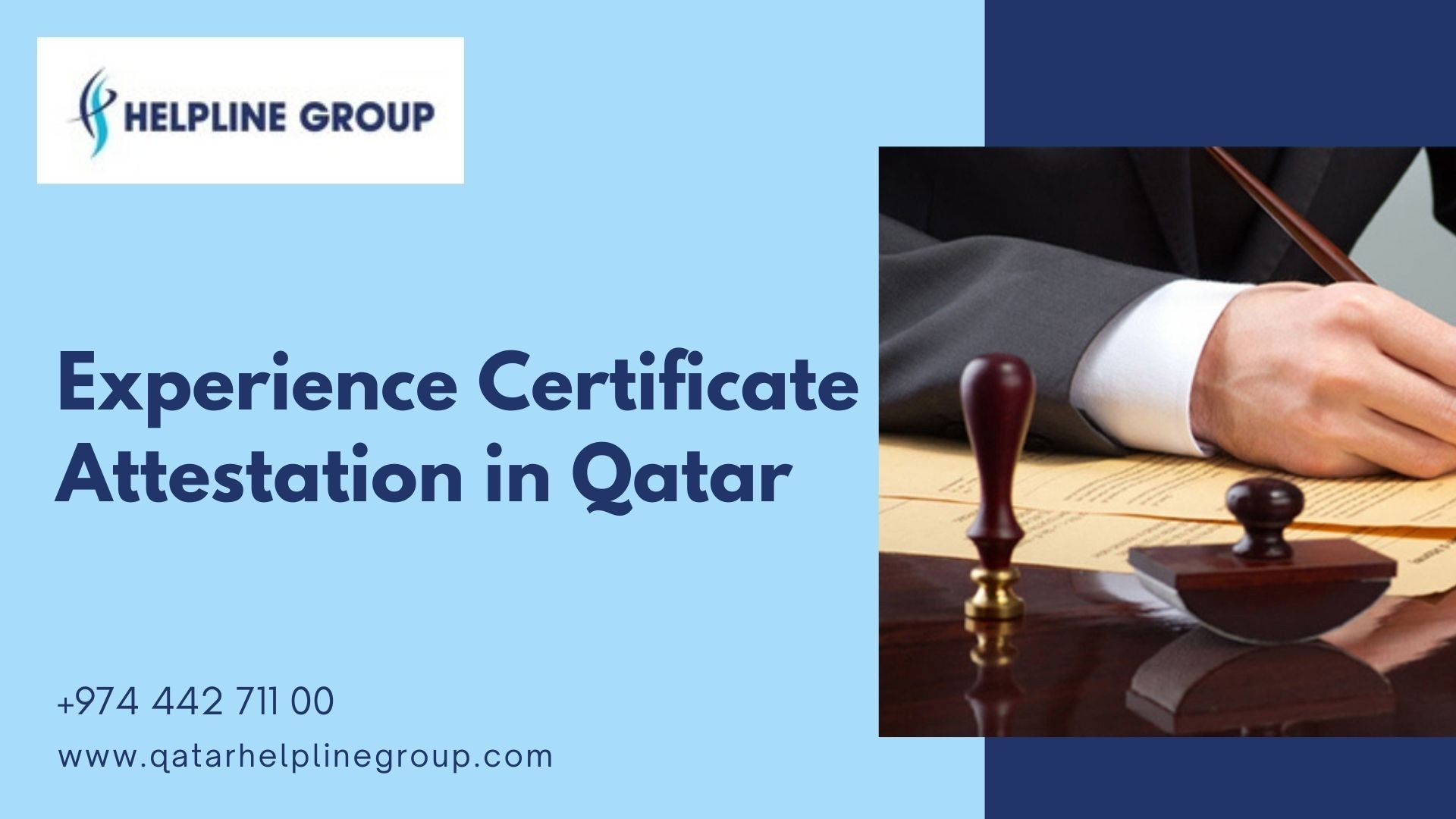 Experience Certificate Attestation in Qatar