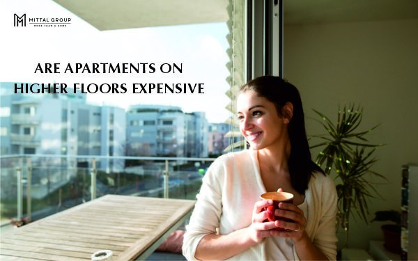 ARE APARTMENTS ON HIGHER FLOORS EXPENSIVE
