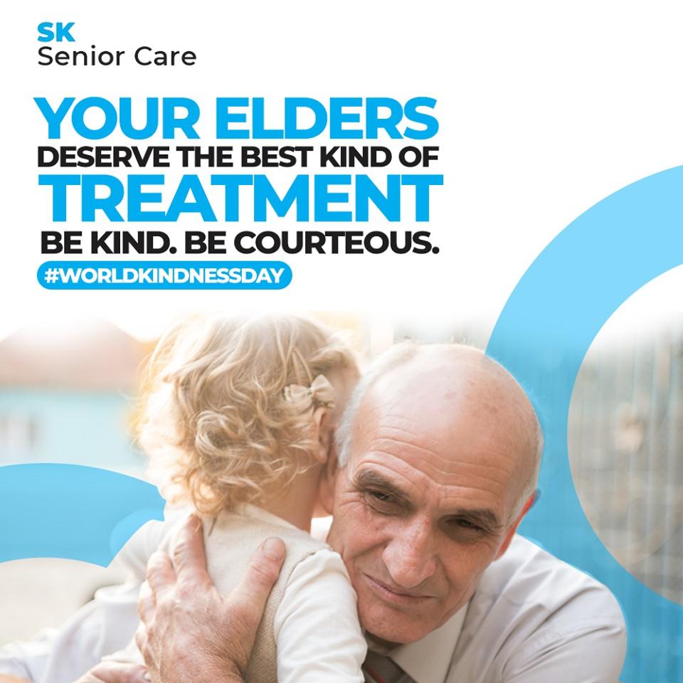 Elders Deserve Best Treatment