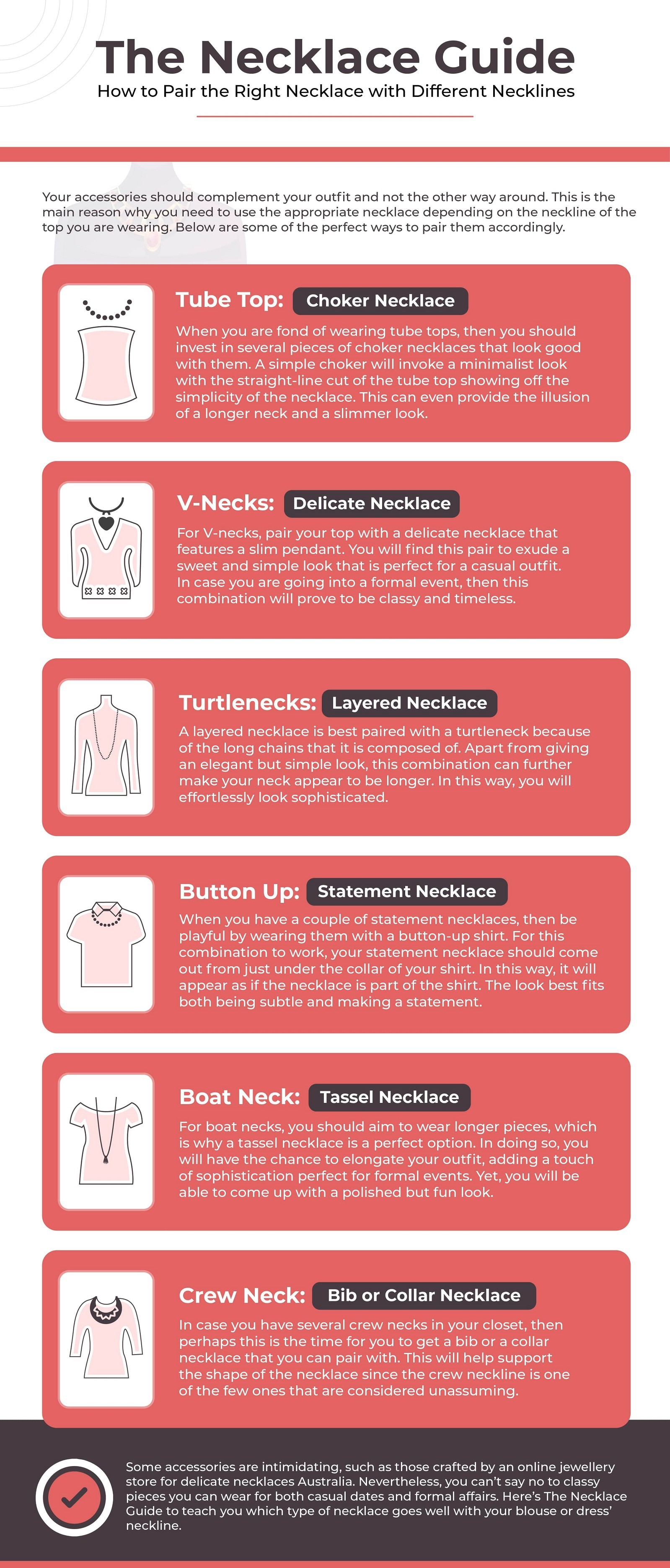 The Necklace Guide: How to Pair the Right Necklace with Different Necklines