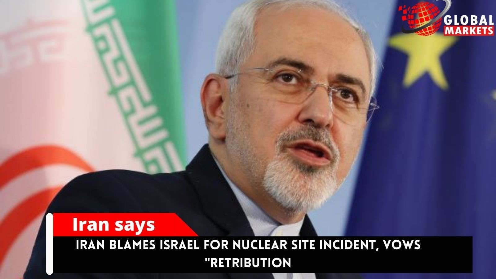 Iran Blames Israel For Nuclear Site Incident, Vows