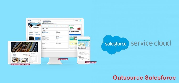 Salesforce Service Cloud Implementation in UK | US Outsource Salesforce