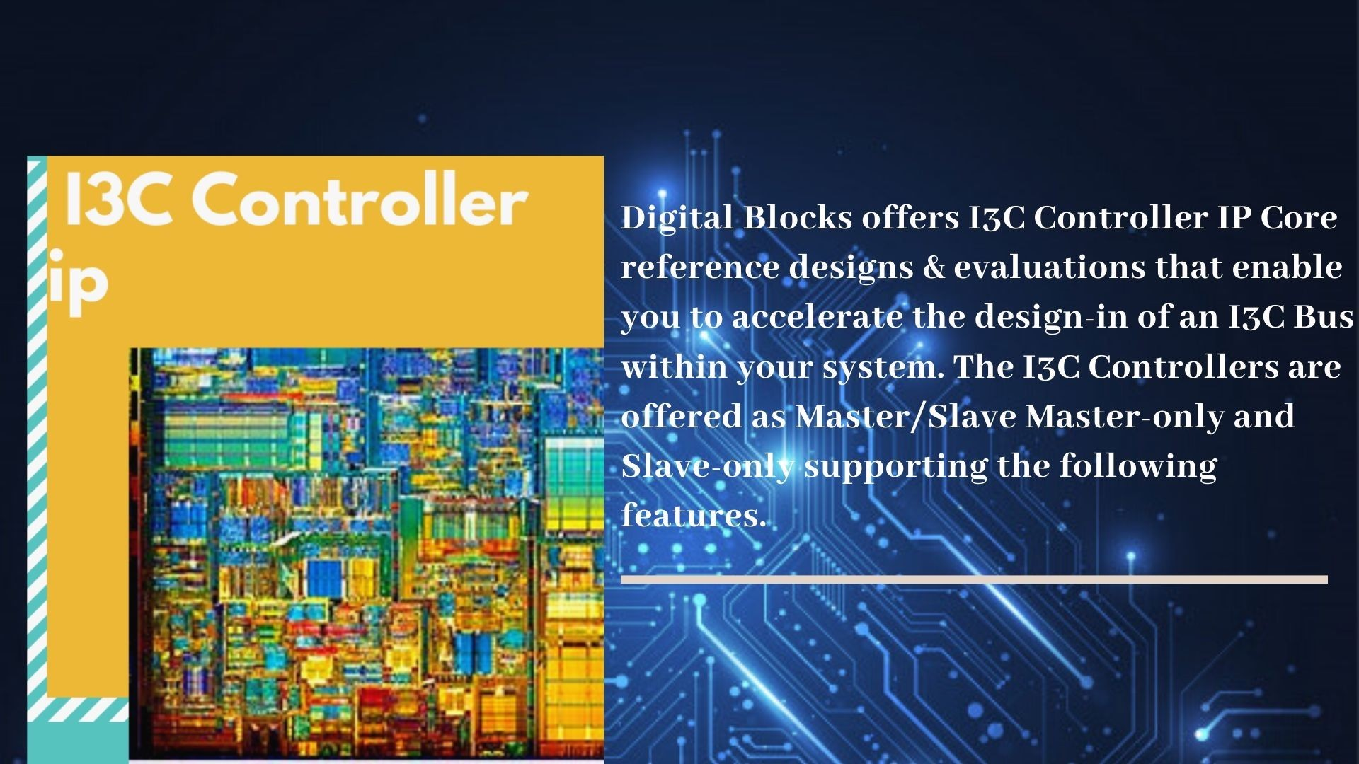 I3C Master Controller IP Core By Digital Blocks