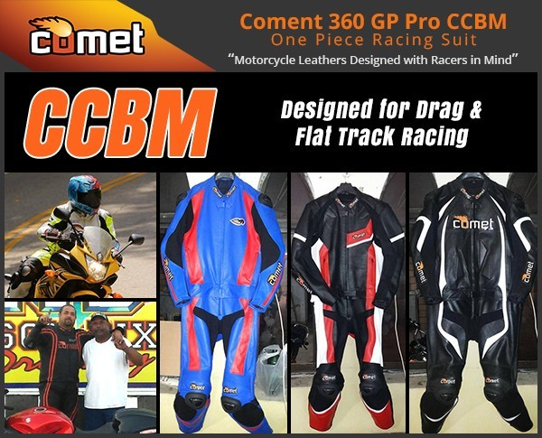 Comet Racing Leather