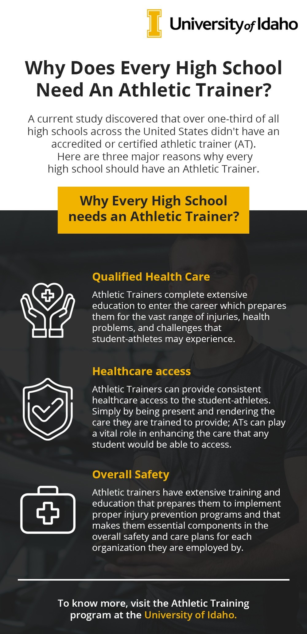 Why every High school need an Athletic Trainer?