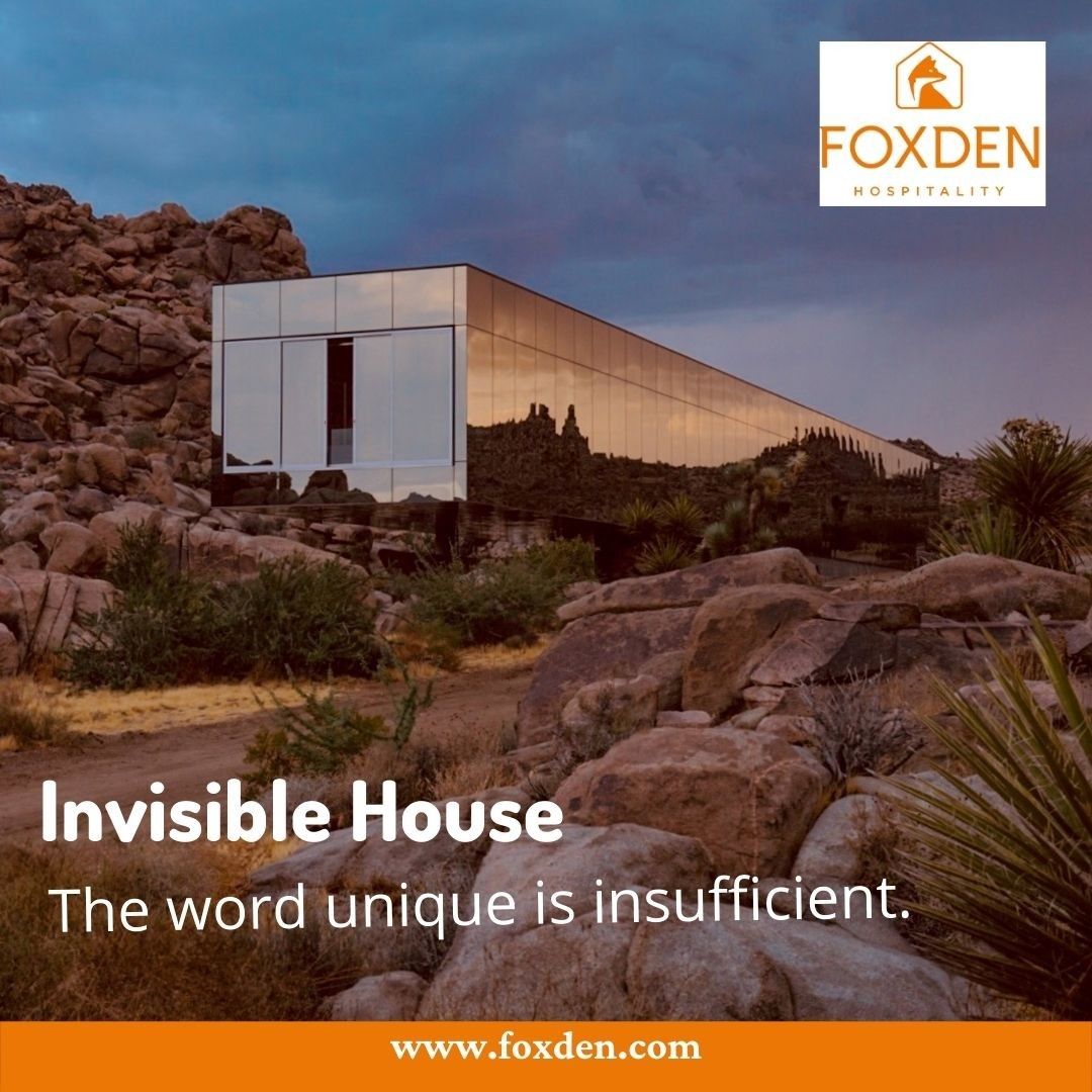 Invisible House is the best Glass Mirror House | Foxden