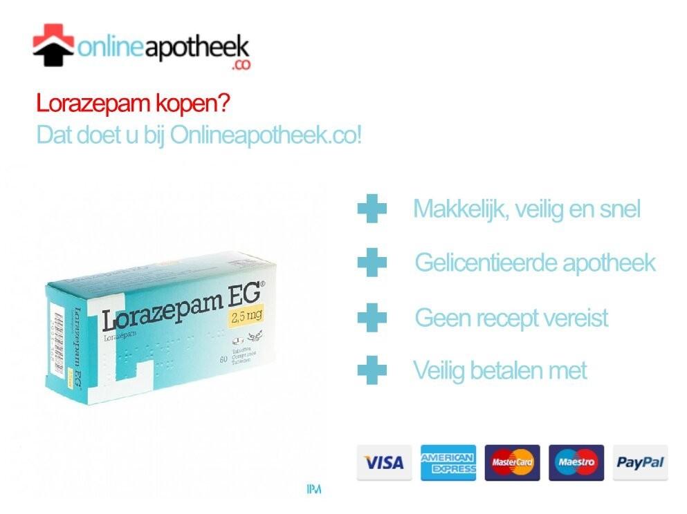 Lorazepam Kopen