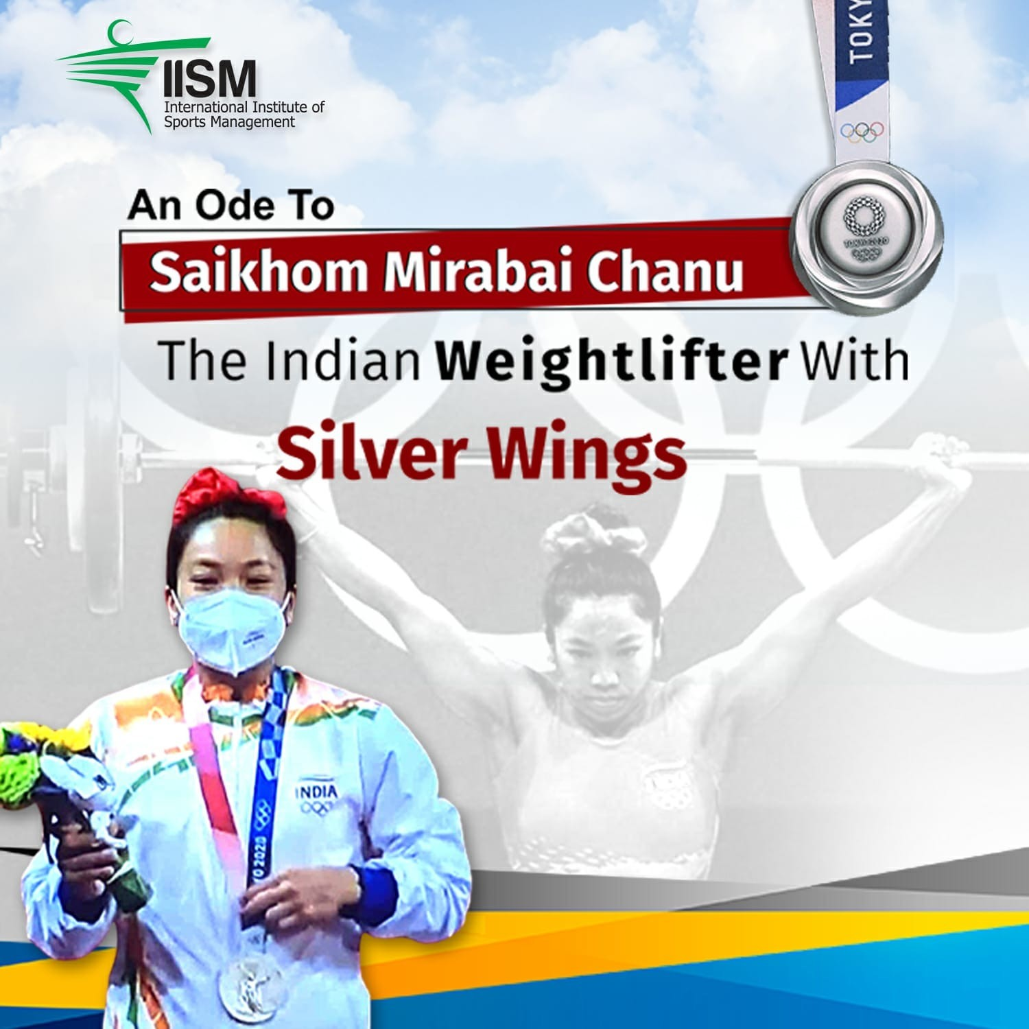 Saikhom Mirabai Chanu- the Indian Weightlifter with Silver Wings blog by IISM