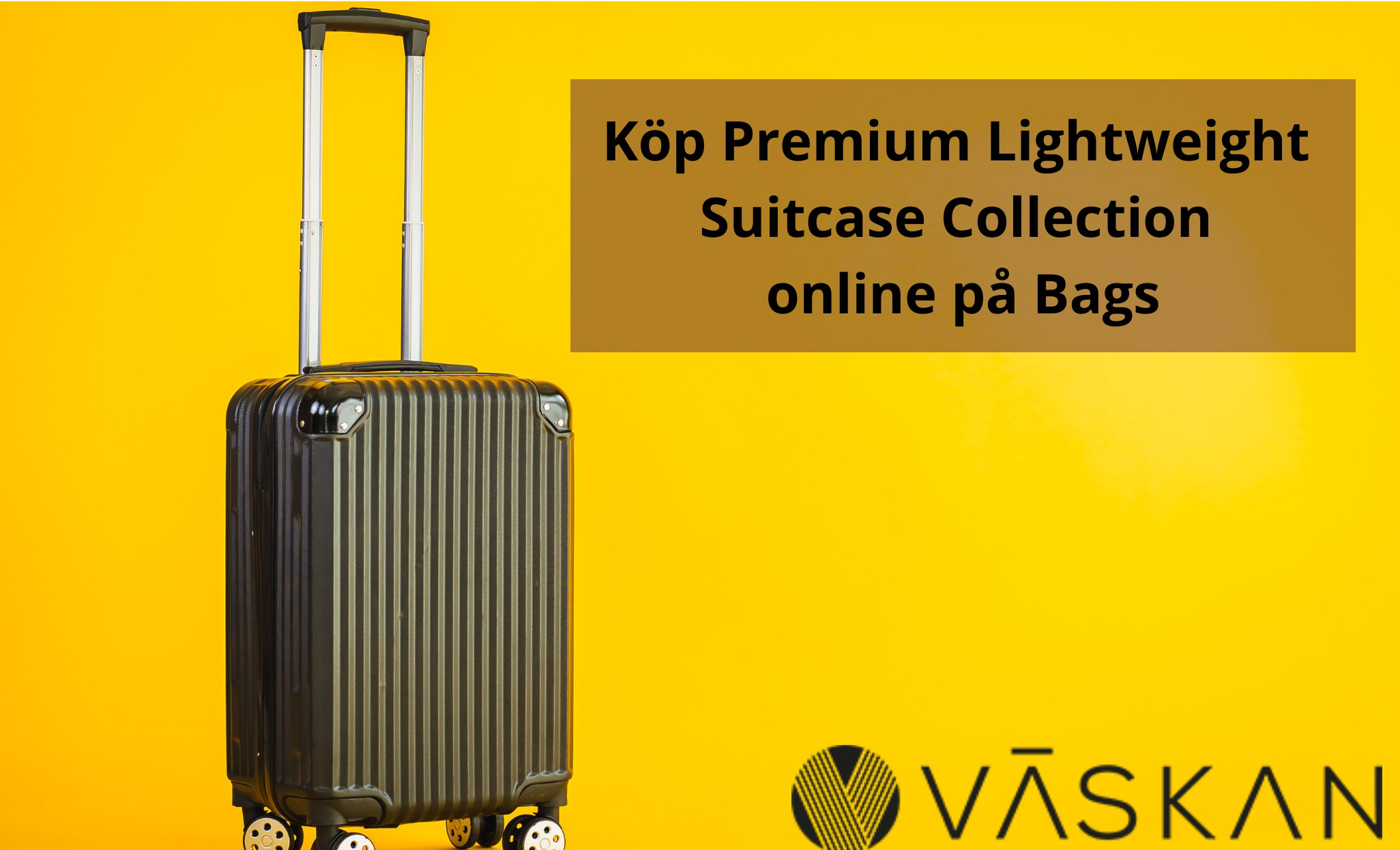Köp Premium Lightweight Suitcase Collection online på Bags