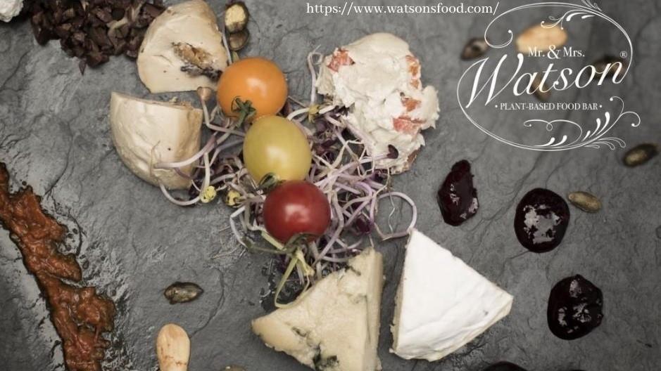 Mr. & Mrs. Watson  –  Restaurant & Vegan Cheesery