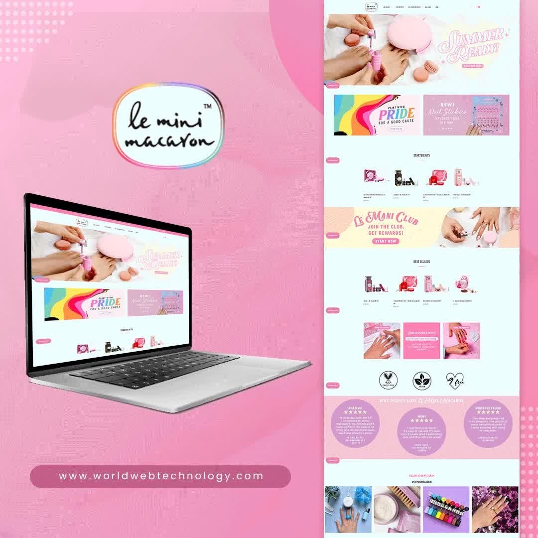 Shopify Website | Le Mini Macaron