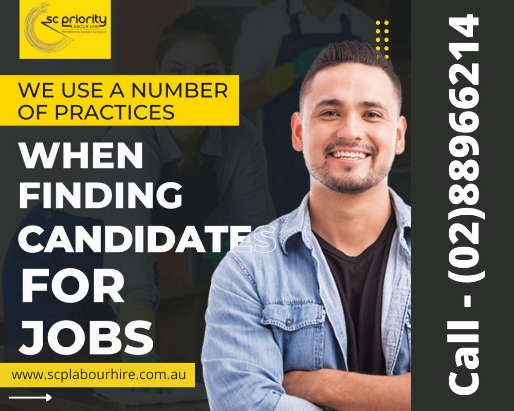 Labour Recruitment Agencies Sydney SC Priority