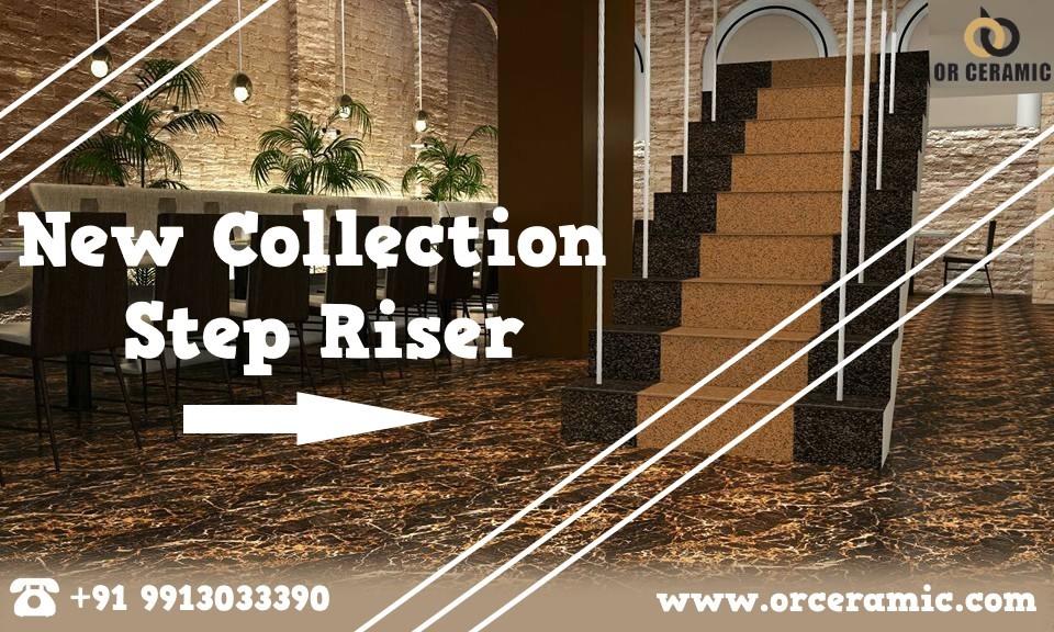 New Collection Step Riser | Ceramic Step Riser Tiles Manufacturer