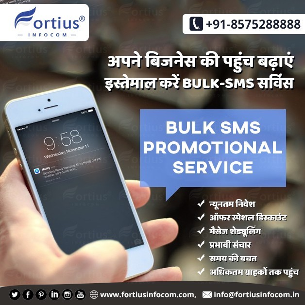 USE BULK SMS SERVICES & PROMOTE YOUR BUSINESS EASILY
