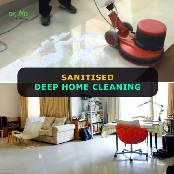 Sanitize Deep Home Cleaning in Bangalore