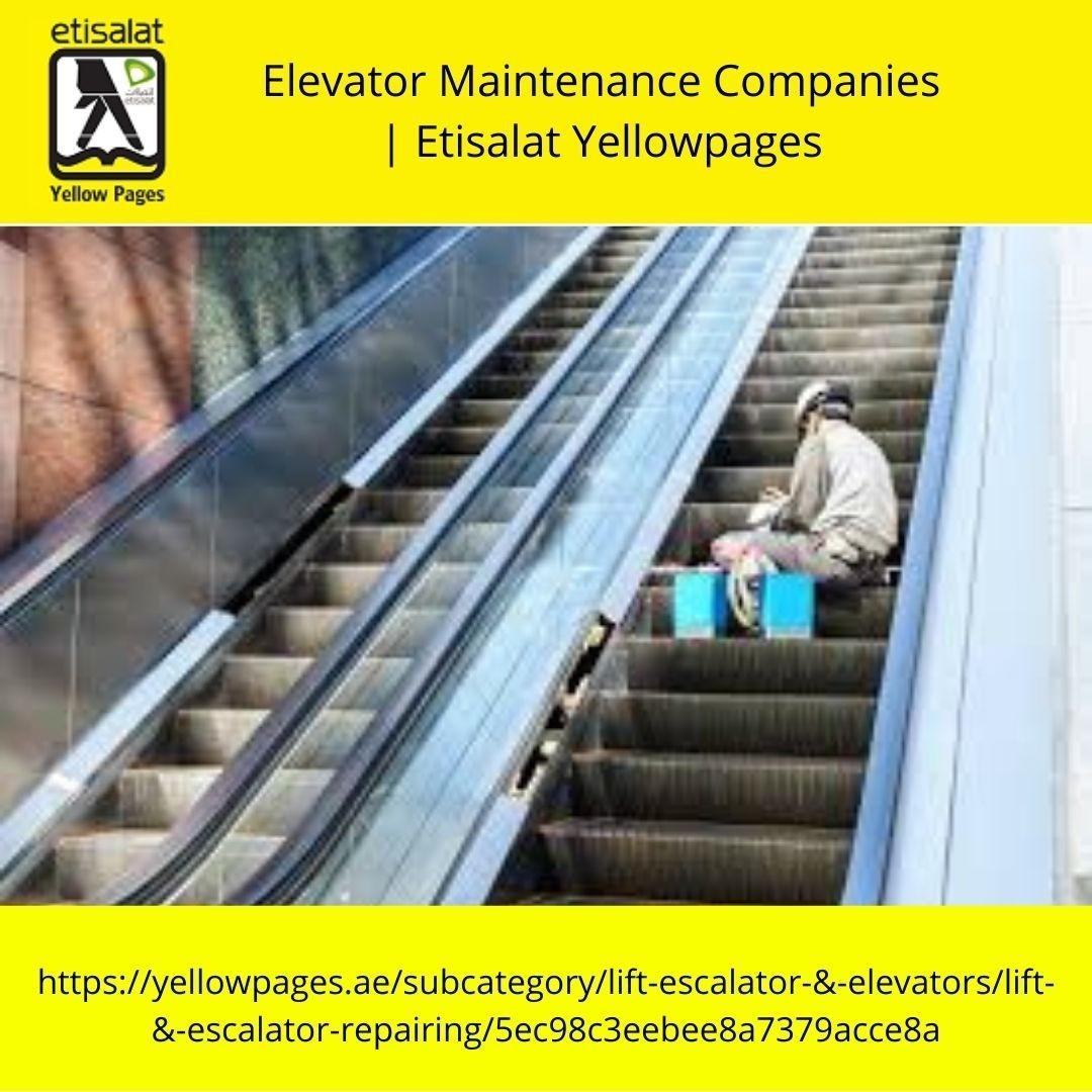 Elevator Maintenance Companies in UAE