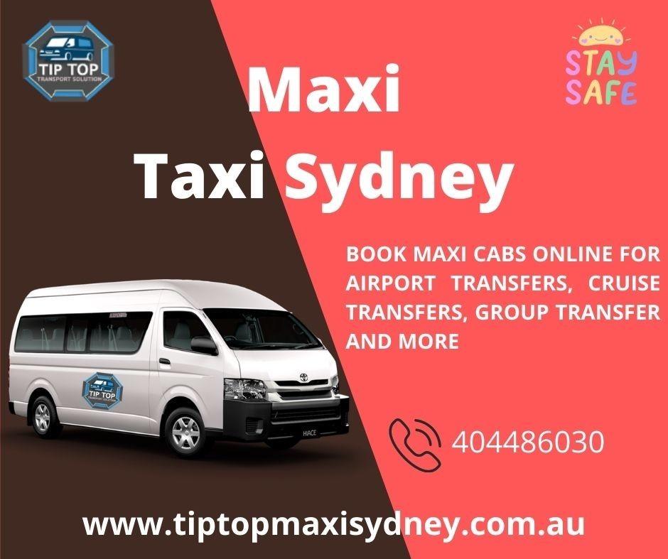 maxi taxi paramatta book taxi to Sydney airport