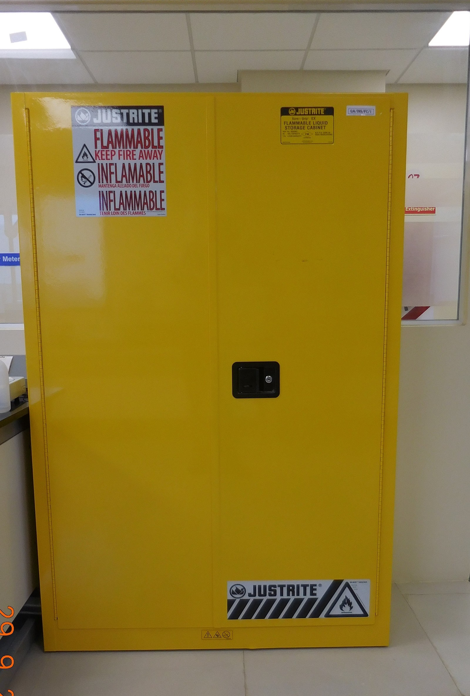 Flammable Material Storage