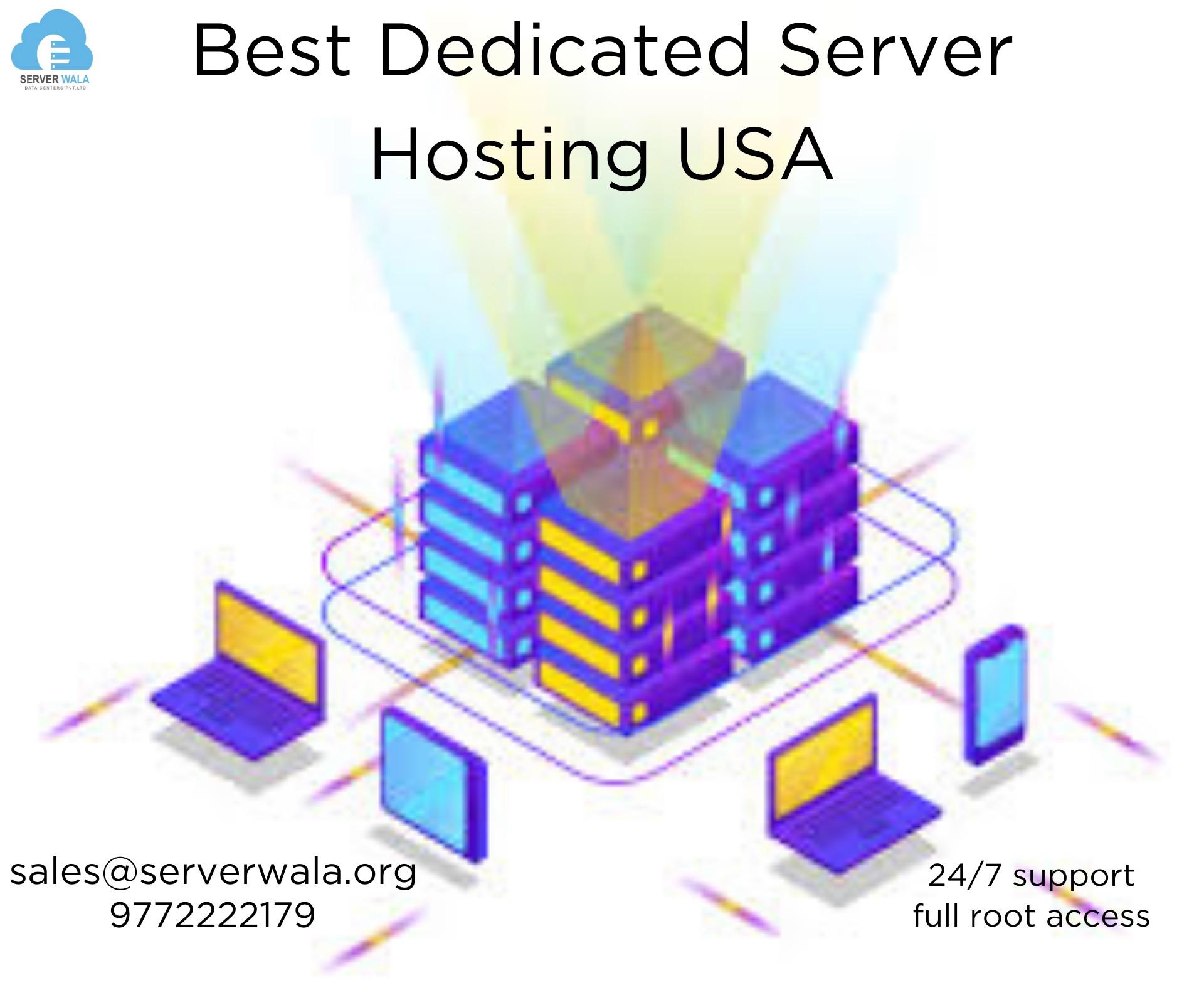 Dedicated Server USA   Dedicated Server Hosting USA