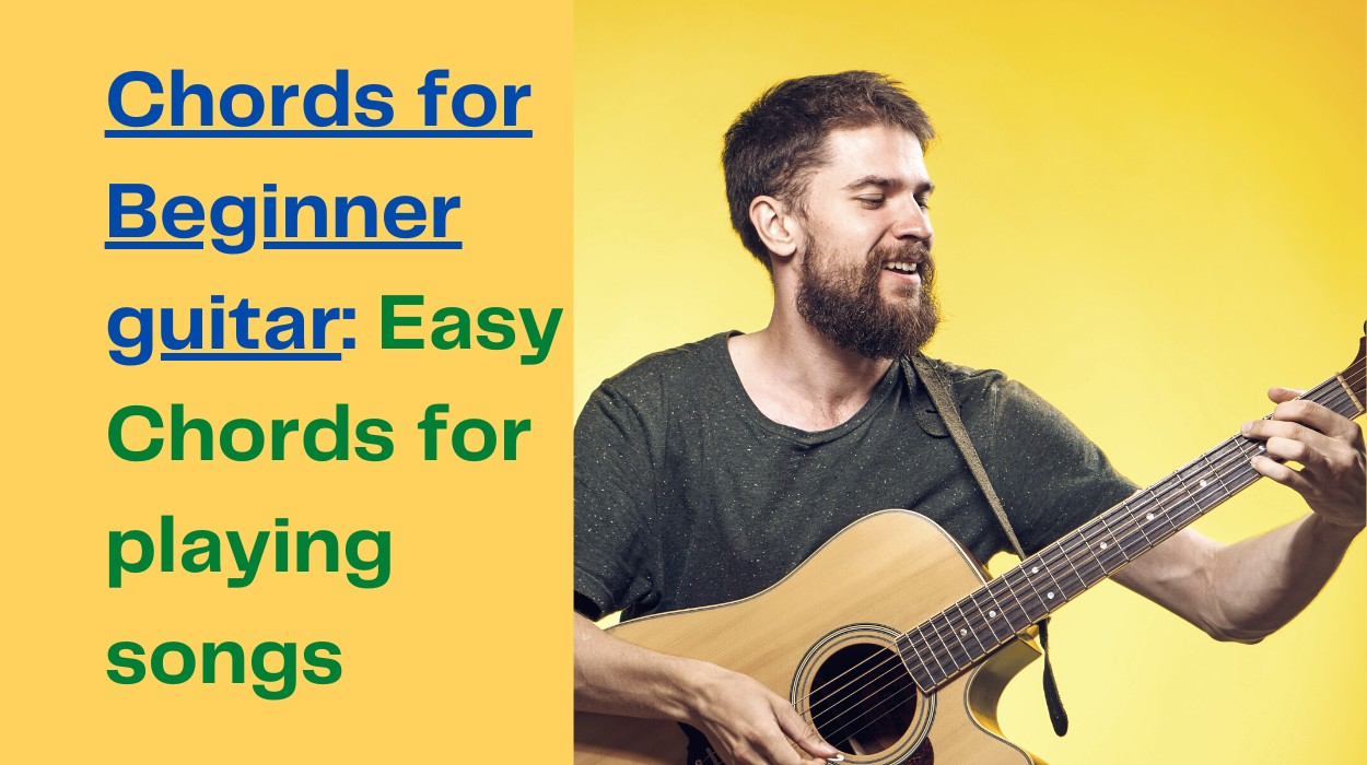 Chords for beginner guitar