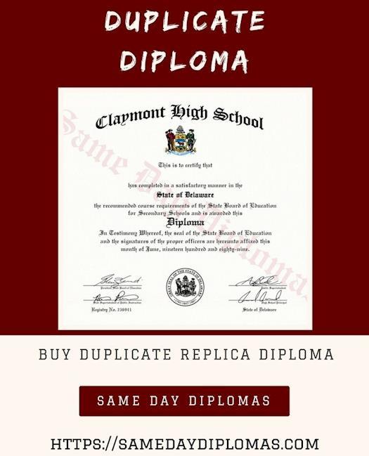 Duplicate Diploma