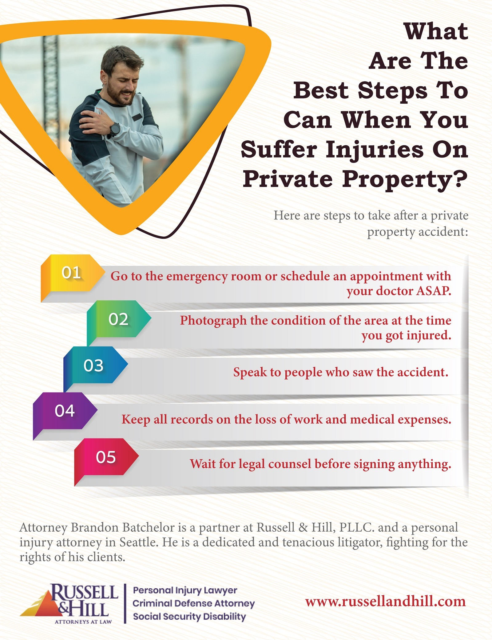 What Are Steps To Can When You Suffer Injuries On Private Property?