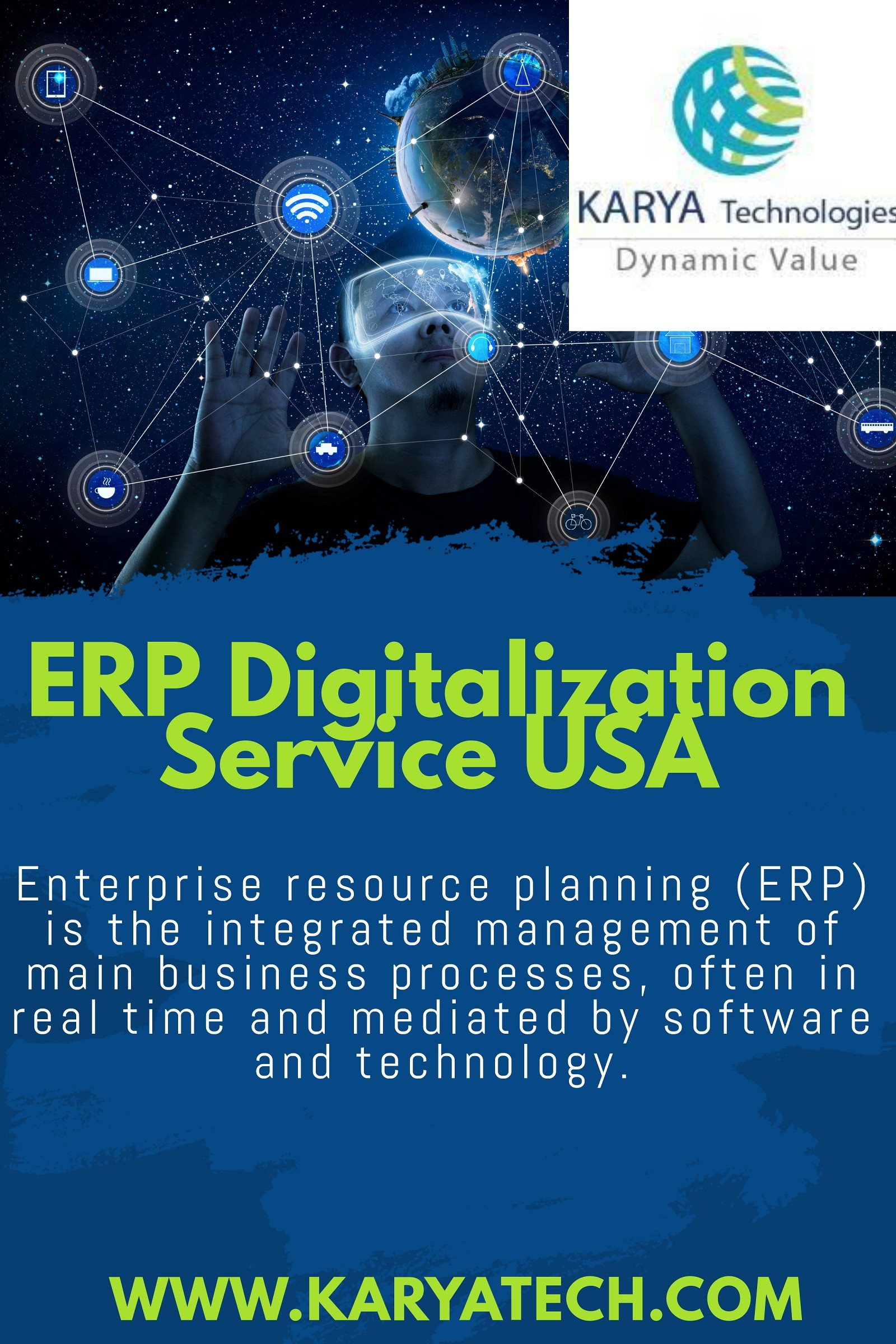ERP Digitalization service