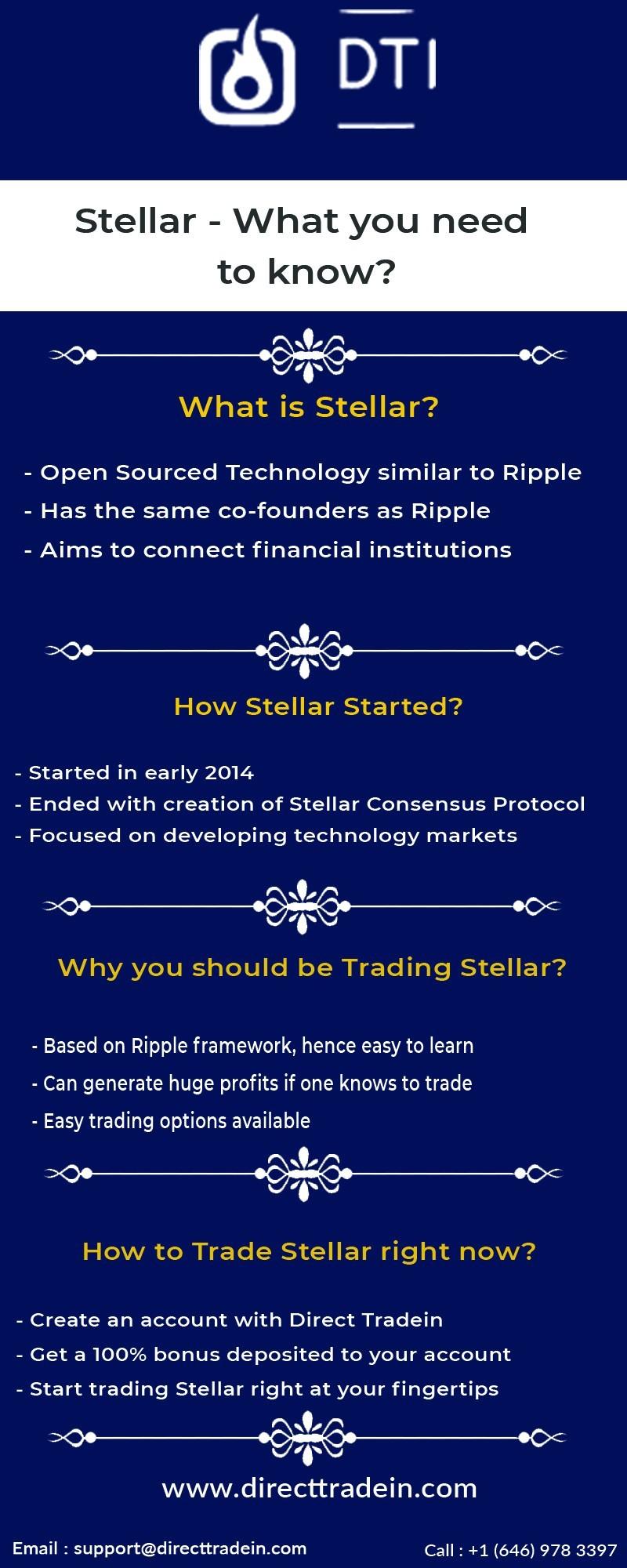 Get the Leading Stellar Trading Platform | Direct Tradein