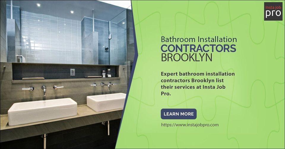 Bathroom Installation Contractors Brooklyn