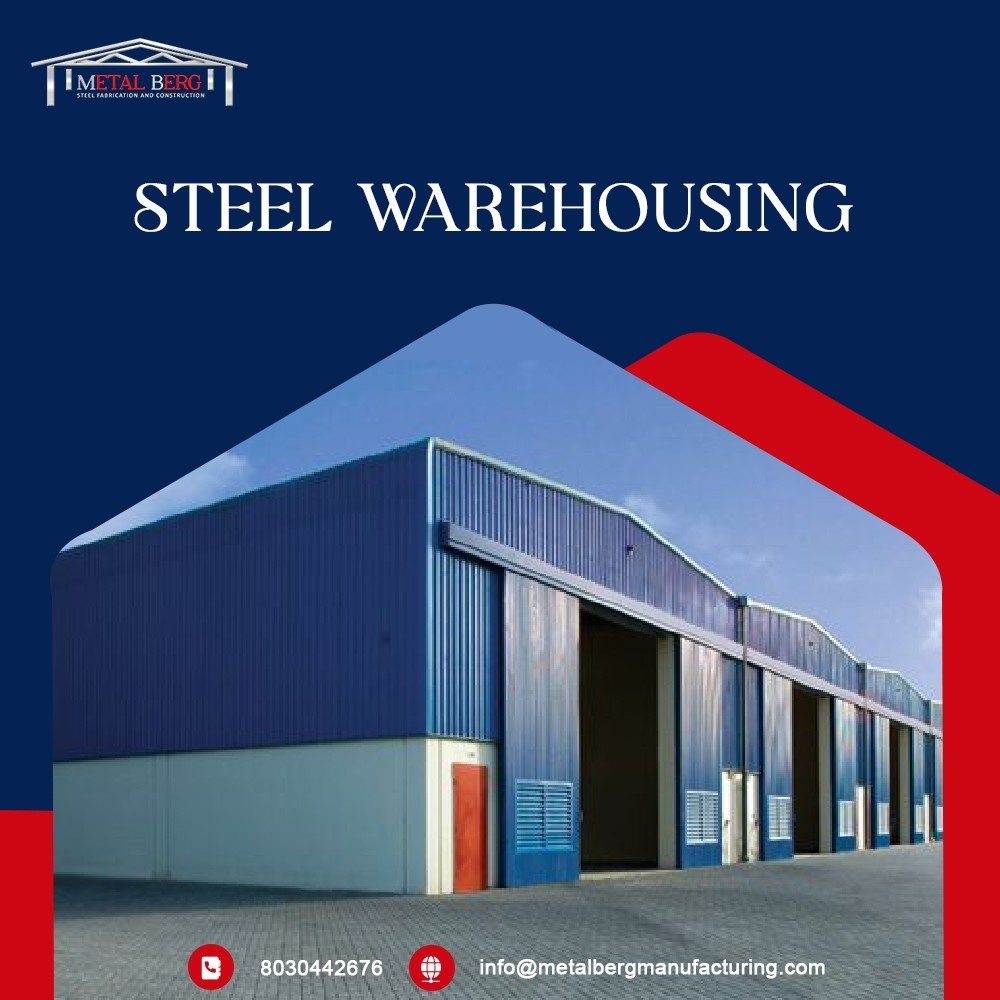 We have Steel Warehouse for Steel Manufacturing