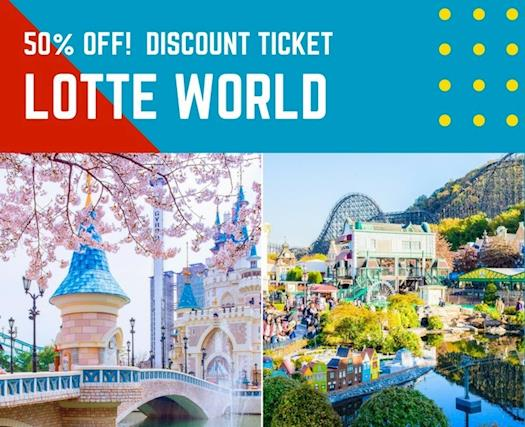 Special Discount LotteWorld Ticket at Best Price