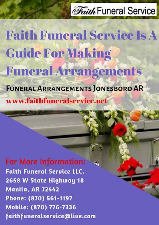 Funeral Arrangements Jonesboro AR