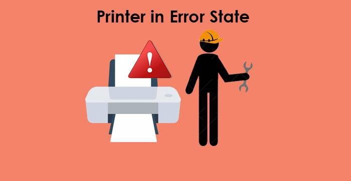 Printer is in an error state