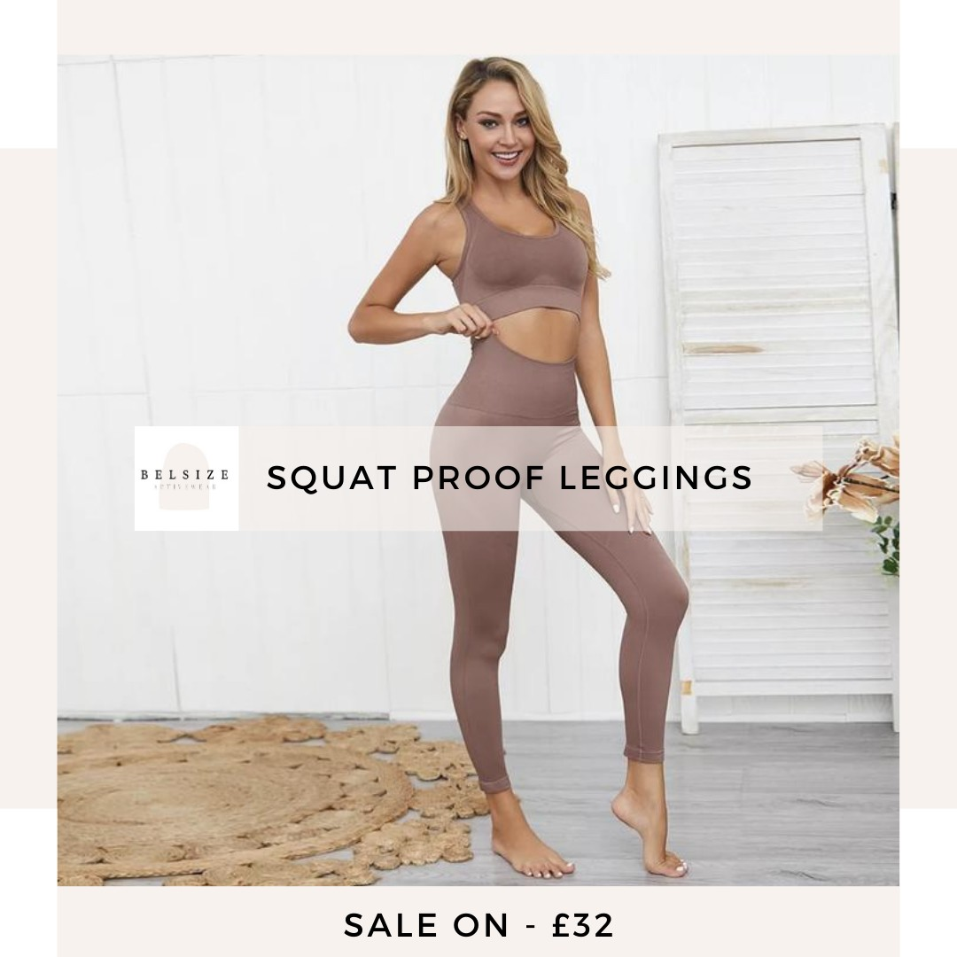 Shop Cropped Squat Proof Workout Leggings
