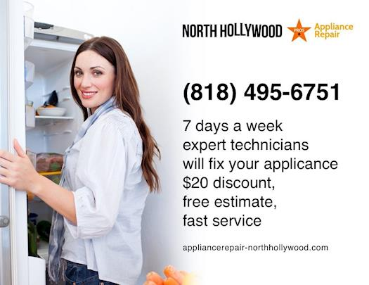 North Hollywood Appliance Repair Pros - (818) 495-6751