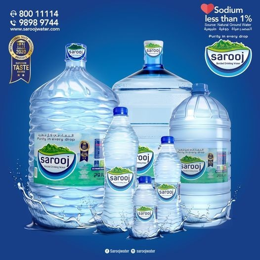 sarooj water