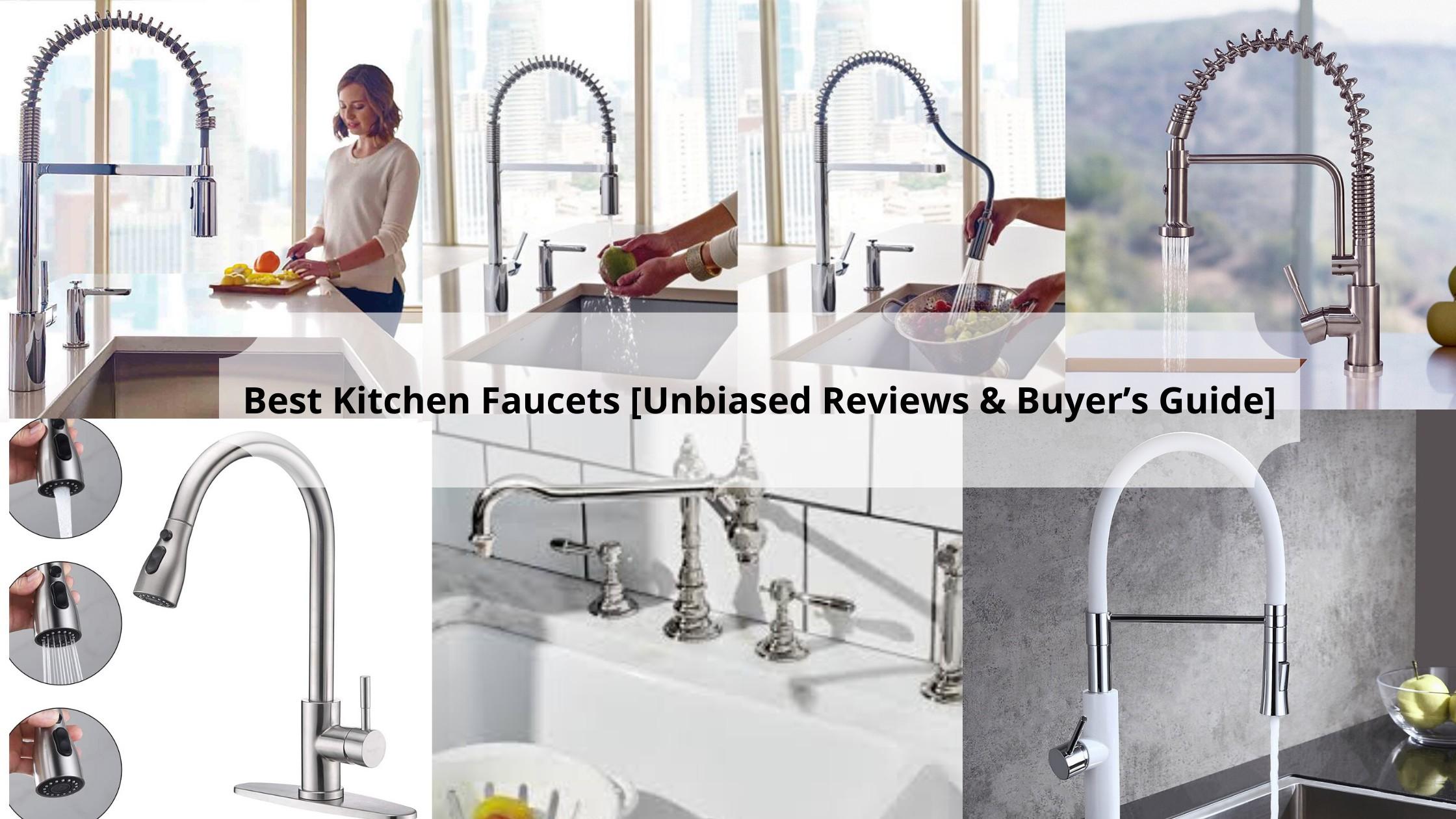 11 Best Kitchen Faucets 2020