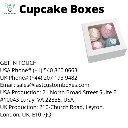 Cupcake Boxes wholesale In USA