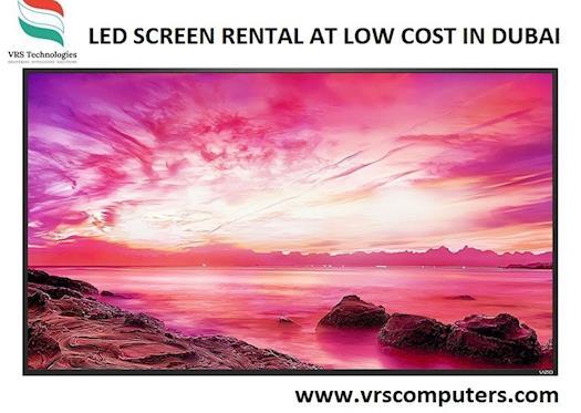 LED SCREEN RENTAL AT LOW COST IN DUBAI