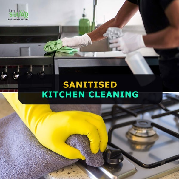 Sanitize Kitchen Cleaning Services in Bangalore