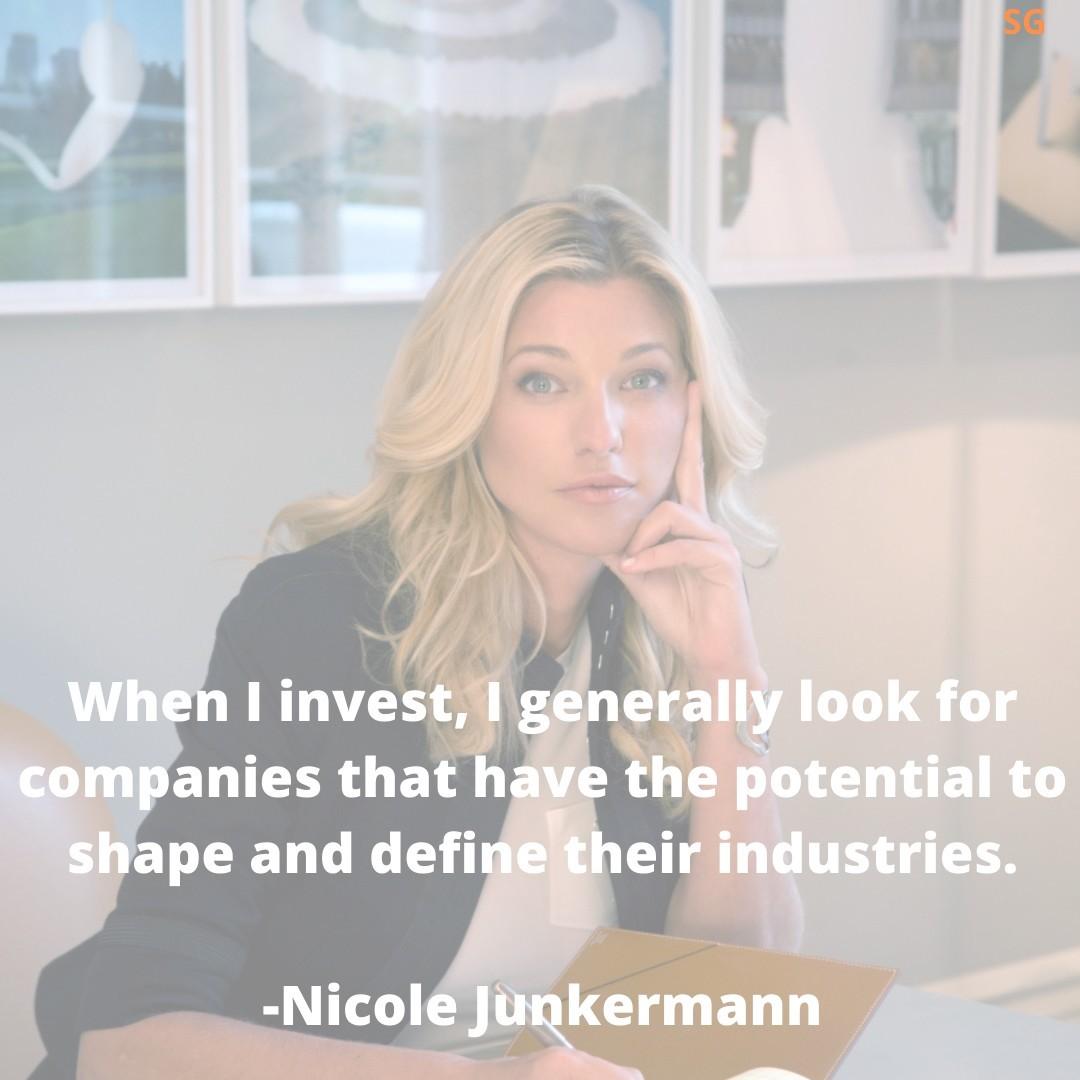 Expert in business, Nicole Junkermann