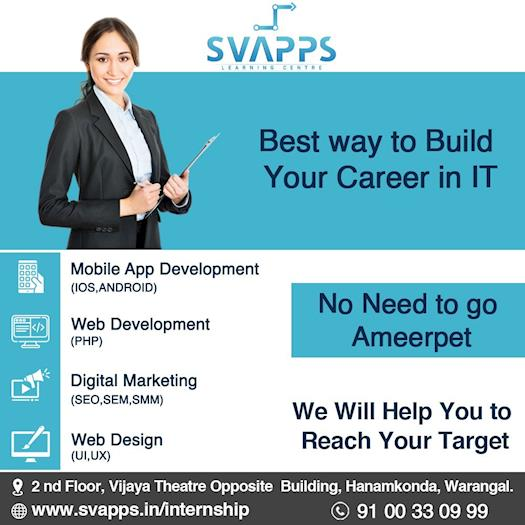 Best Software Training Institute In Warangal