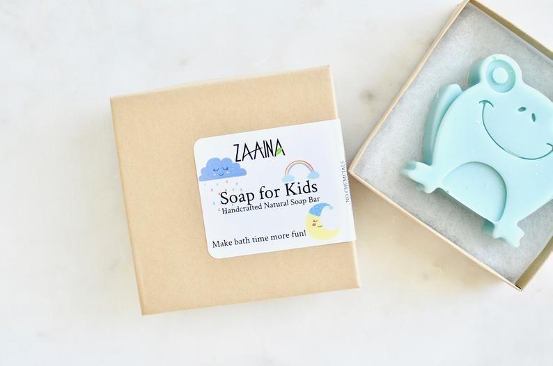 Buy Birthday Soap Kids Gift, Animal Kids Soaps From Zaaina