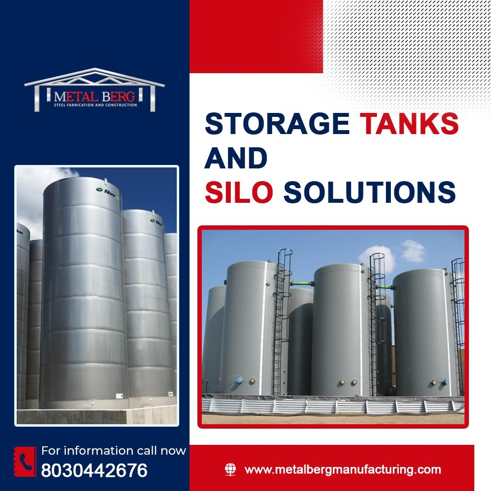 We are Manufacture of Storage Tanks and Silo Tanks in Nigeria
