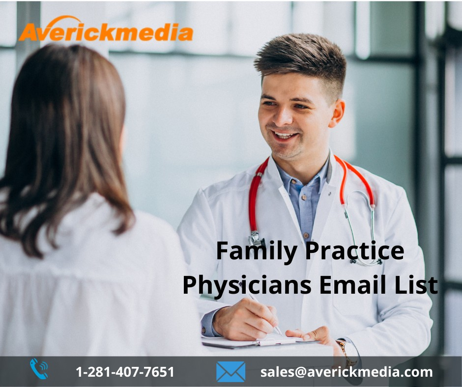 Family Practice Physicians Email List