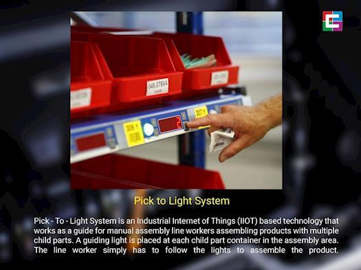 Pick To Light System