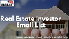 Real Estate Investor Email List