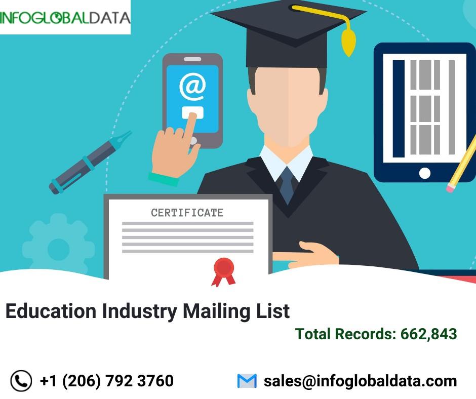 Education Industry Email List | InfoGlobalData