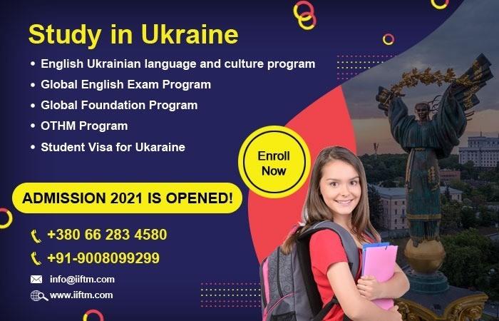 Online Admission Procedure for Study in Ukraine, Apply to Study in Ukraine – IIFTM